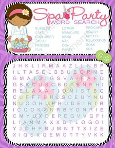 word games party
