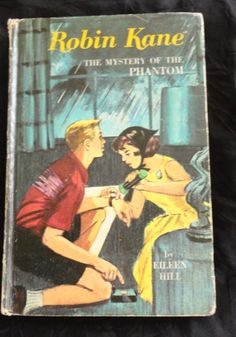 Vintage Book Robin Kane The Mystery of The Phantom by Eileen Hill Copyright 1966 by CoolCoolVintage, $3.00
