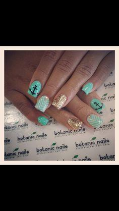 Spring/summer nail art!
