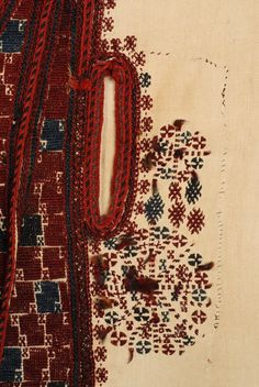 Greece, Macedonia, Grevena, sayias, bridal and festive, summer cotton sleeveless overcoat, cotton, wool, end of 19th c
