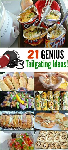 Huddle Up! We're Sharing 21 Of Our Favorite Tailgating Recipe Ideas – Huddle Up! We're Sharing 21 Of Our Favorite Tailgating Recipe Ideas – Tailgates Huddle Up! We're Sharing 21 Of Our. Football Tailgate, Football Food, Football Season, Naan, Enchiladas, Spaghetti Torte, Spaghetti Salad, Tailgating Recipes, Tailgate Appetizers