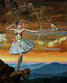 lady of the instant by ~ michael cheval