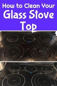 Clean Range / Clean Glass Stove top / kitchen cleaning / kitchen tips / cleaning tips #cleaning #glassstove via @clarkscondensed