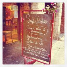 Pulp Kitchen. Gluten and dairy free restaurant in Lille, France
