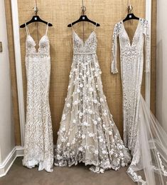 Wedding Day How gorgeous Which one do you like better? Gowns by at Wedding Day Wedding Planner Your Big Day Weddings Wedding Dresses Wedding bells - Dream Wedding Dresses, Wedding Gowns, Prom Dresses, Wedding Dress Not White, Beaded Wedding Dresses, Formal Dresses, Wedding Dress Sparkle, Weeding Dress, Bridal Gowns