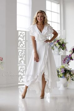 "Dress ""Air foam"" Dress ""Air foam"" – shop online on Livemaster with shipping – White Outfits, Boho Outfits, Elegant Dresses, Pretty Dresses, Jw Mode, Dress Skirt, Dress Up, Evening Dresses, Summer Dresses"