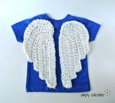 Crochet Angel Wings