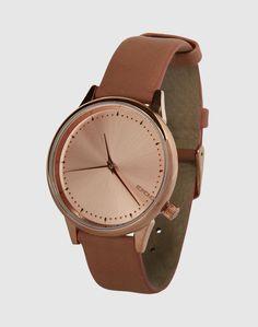 Armbanduhr 'Estelle Classic' von Komono - EDITED.de Watches, Classic, Leather, Accessories, Fashion, Bracelet Watch, Derby, Moda, Wristwatches
