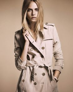 Burberry's quintessential trench coat. There is no topping this classic
