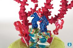 Seahorse or Lobster Candy Kabobs Luau Party, Birthday Party Favors, Birthday Candles, Birthday Parties, Bulk Candy, Candy Shop, Candy Kabobs, Baby Shower Favors, 4th Of July Wreath