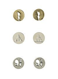 HOTTOPIC.COM - Harry Potter Earring Set 3 Pair YES! Good thing pay day's tomorrow! #need