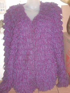 Vintage two tone 1980's Purple plum by PatsapearlsBoutique on Etsy, $59.99
