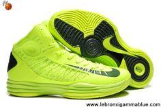 Buy Discount Nike Lunar Hyperdunk 2013 Volt Gorge Green