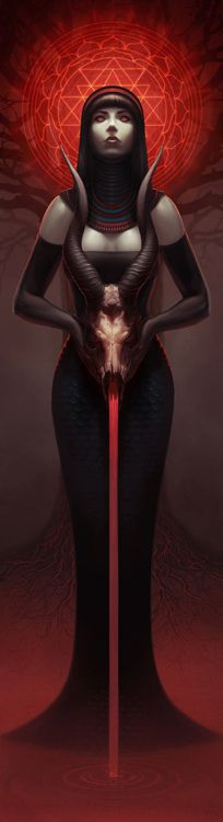One of the dark goddesses, like Persephone, Hecate, and Kali, Lilith expresses the feminine power of the divine, creative life force.