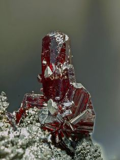 Proustite from Imiter district, Morocco
