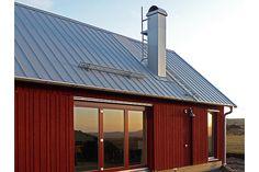 Klövsjö 172 . Method Homes, Built In Dresser, Floating House, Wooden House, Large Homes, Cabins In The Woods, Prefab, Modern Farmhouse, Interior Architecture