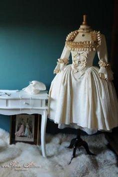 Rococo influence.