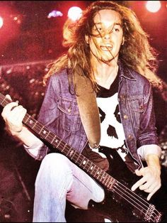 Cliff Burton - He revolutionised bass in heavy metal... hell in rock in general. He truly played the bass like a lead guitar.