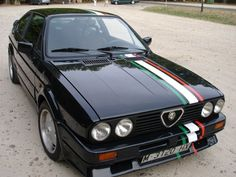 Classic Car News Pics And Videos From Around The World Alfa Gtv, Alfa Alfa, Alfa Romeo Gtv6, Alfa Romeo Cars, Alfasud Sprint, Hobby Cars, Maserati, Cars And Motorcycles, Vintage Cars