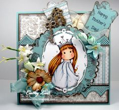 Midweek Magnolias Die Cuts and/or Punches challenge #cards #crafts