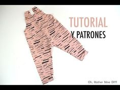 ideas for diy ropa patrones costura Sewing Baby Clothes, Baby Sewing, Tricot Baby, Diy Bebe, Romper Pattern, Baby Couture, Creation Couture, Baby Store, Sewing For Kids