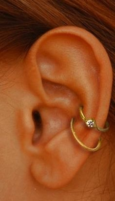 I am actually considering this. Just one instead of two. But I miss having multiple ear piercings.