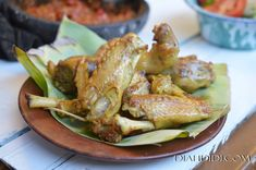 Meat Recipes, Chicken Recipes, Cooking Recipes, Diah Didi Kitchen, Malay Food, Indonesian Cuisine, White Meat, Spicy, Food And Drink