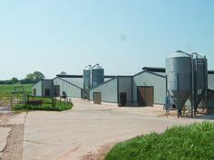 New farm buildings