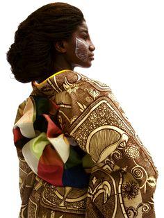 """西アフリカのデザインと着物が融合 """"WAFRICA""""から目が離せない"""