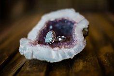 Geode engagement ring shot ~  we ❤ this! moncheribridals.com