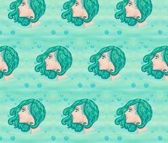 Life Under the Sea fabric by majoranthegeek on Spoonflower - custom fabric