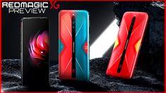 EL NUEVO TELÉFONO GAMER SUPER POTENTE RED MAGIC 5G TE SORPRENDERÁ - Trailer Preview La nueva generación de Red Magic podría satisfacer todas sus necesidades:  Pantalla con 144Hz: de 6.65  AMOLED ESports Display  5G: los modos duales SA  NSA admiten todas las regiones clave.  Qualcomm Snapdragon  865 RAM LPDDR5 con hasta 12GB RAM  UFS 3.0 con hasta 256GB De almacenamiento  Enfriamiento líquido activo con Turbo Fan 3.0  Gatillos tactiles incorporados: juega como un profesional  Cámara triple…