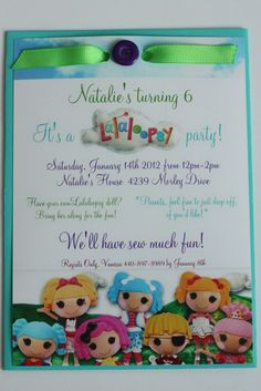 """Photo 11 of 13: Lalaloopsy Party / Birthday """"Natalie's 6th Birthday""""   Catch My Party"""