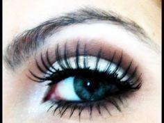 Maquiagem para olhos fundos - YouTube