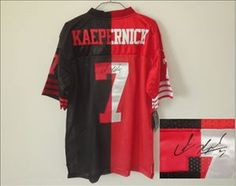 30e4a8b5a Top High-quality NEW NFL San Francisco 49ers 7 Colin Kaepernick Red-Black  Elite