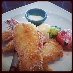 Seafoods deep fried