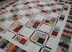 {Sisters and Quilters}: Fabulous Customer Sharing Day Disappearing 4 Patch (I think)