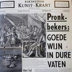 Digitale Bibliotheek: 10juni18 Kunst-krant Rijksmuseum Amsterdam        ... Alcohol Signs, Amsterdam