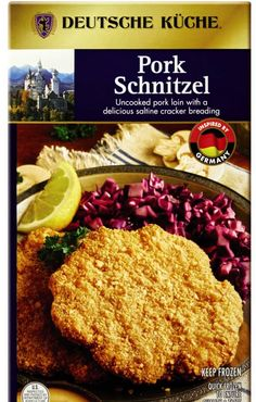 We sense a German theme going on at Aldi this month. It's not every day that you can get six portions of ready-to-bake pork schnitzel in the freezer aisle! Find this offering starting September 16. Gluten Free Snacks, Vegan Snacks, Easy Snacks, Four Cheese Pasta, Cheese Pasta Bake, Pumpkin Swirl Cheesecake, Lentil Flour, Pork Schnitzel, Kitchens