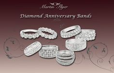 Classic and Forever Anniversary Bands from Martin Flyer.