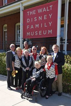 Mickey Mouse Club's 60th anniversary with original Mouseketeers Bobby Burgess, Sharon Baird, Sherry Alberoni, Tommy Cole, Darlene Gillespie, Doreen Tracy plus Tim Considine and David Stollery from Spin and Marty at Walt Disney Family Museum