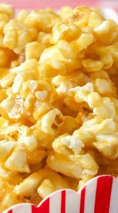 Popcorn Snacks, Popcorn Recipes, Sweets Recipes, Candy Recipes, Holiday Recipes, Snack Recipes, Cooking Recipes, Popcorn Balls, Yummy Snacks