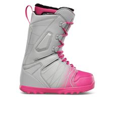 ThirtyTwo Lashed Womens Snowboard Boots - Grey/Pink | Free Delivery