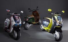 2010 mini scooter e concept trio