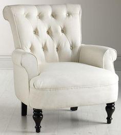 Morgan Tufted Armchair - Arm Chairs - Living Room - Furniture | HomeDecorators.com #BestlaminateDream
