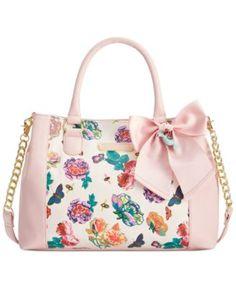 Betsey Johnson Floral Satchel