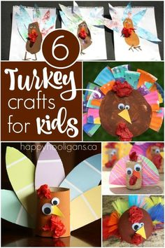 6 Turkey Crafts for