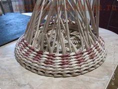 Мастер-класс по плетению из газет: Кашпо или ваза