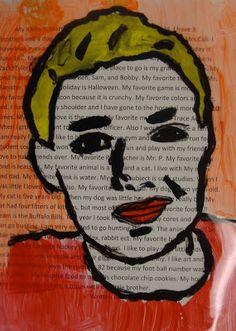 Art. Paper. Scissors. Glue!: Warhol Inspired Portraits
