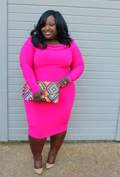 Pink Pinup (A Chic and Curvy Review) - #DateNightLooks, #OOTN, #ProductReviews, #Spring/SummerLooks - http://curvy.fashion/2015/03/28/pink-pinup-a-chic-and-curvy-review/